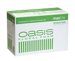 0100 - OASIS® Springtime Floral Foam CASE OF 48 BRICKS - now with Maxlife