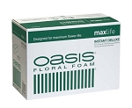0140 - OASIS® Instant Deluxe Floral Foam CASE OF 48 BRICKS - now with Maxlife