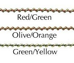 SO-2653-6 - OASIS® Two-Tone Wire - available in 3 colors