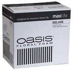0127 - OASIS® Deluxe Floral Foam CASE OF 36 BRICKS - now with Maxlife