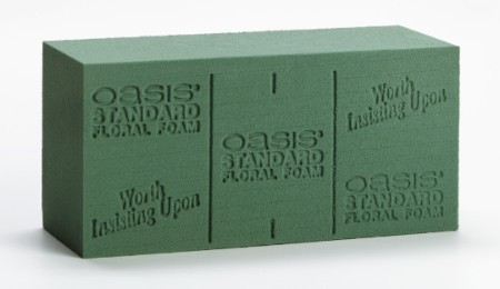 SO-0127-P - OASIS® Deluxe Floral Foam - by the piece - now with Maxlife
