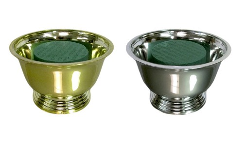 4-inch Small Revere Bowl Centerpiece Kit - Available in Gold or Silver - by the piece
