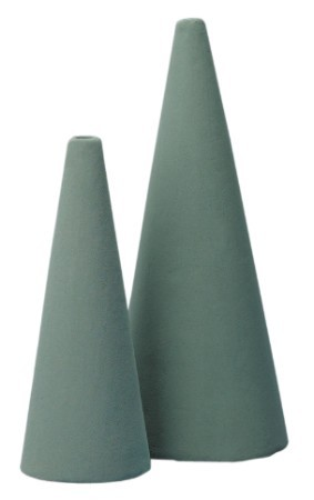 SO-7720-P - 9 inch OASIS® Floral Foam Cones - by the piece - NOW with Maxlife