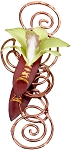 Classy Copper Wearable Floral Design - Scroll Down to