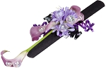 Purple Pizazz Corsage Wearable Floral Design - Scroll Down to
