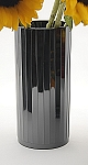 VO-770BLKPRL-P - Black Pearl Plastic Images Vase - by the piece