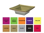 ESSENTIALS Square Design Bowl - Available in 10 colors - by the piece