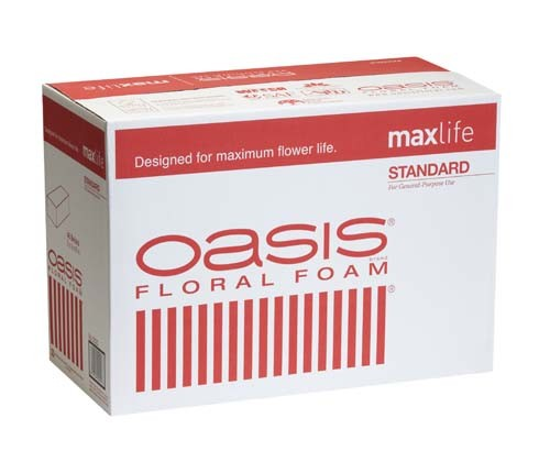 0020 - OASIS® Standard Floral Foam CASE OF 48 BRICKS - now with Maxlife