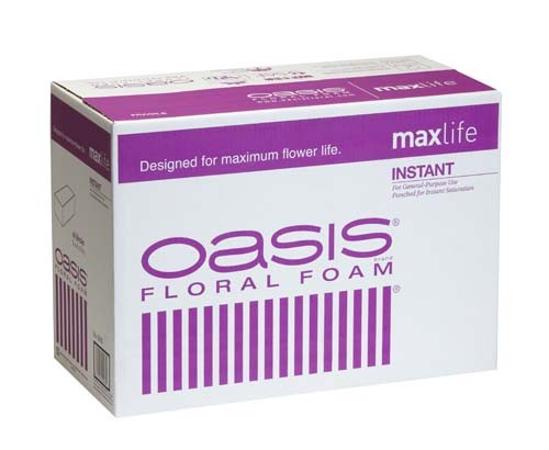 0060 - OASIS® Instant Standard Floral Foam CASE OF 48 BRICKS - now with Maxlife