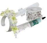Beaded Sophistication Corsage Kit - Just Add Water and Your Flowers - Scroll down to