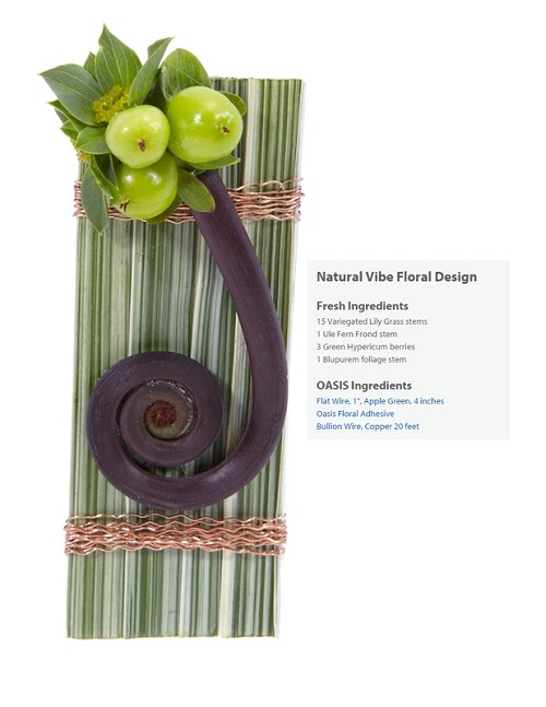 "Natural Vibe Boutonniere Wearable Floral Design - Scroll Down to ""Click Here"" for link to Recipe Card"