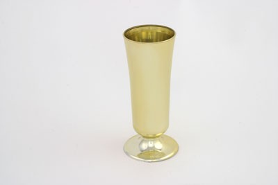 VO-421-2 - Large Plastic Rose Vase (Gold or Silver) - carton of 12