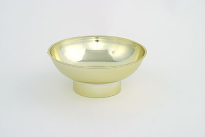 VO-371-2 - Plastic Utility Bowl (Gold or Silver) - carton of 48