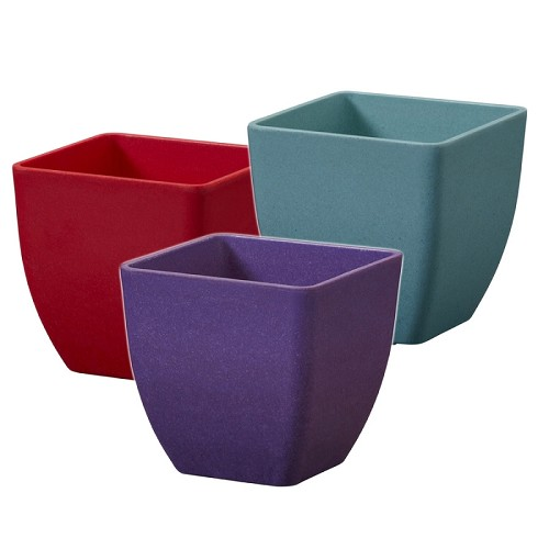 OASIS ECOssential 3.5-inch Cube Container - Available in 10 colors - by the piece