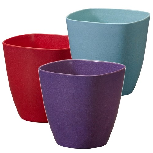 OASIS ECOssential 4.5-inch Cube Container - Available in 10 colors - by the piece
