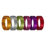 SO-40-12330-5-P - OASIS® OASIS Snakeskin Wire - Available in 6 Colors - Scroll down for VIDEO