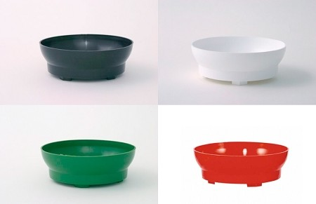 VO-560 - Plastic Contemporary Bowl (4 Colors) - carton of 72