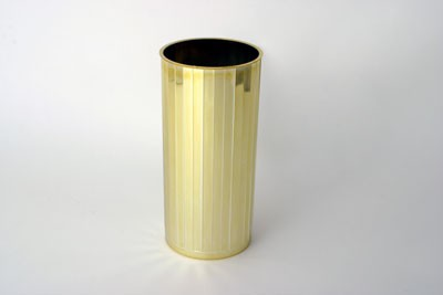 VO-771-2 - Plastic Images Vase (Gold or Silver) - carton of 12