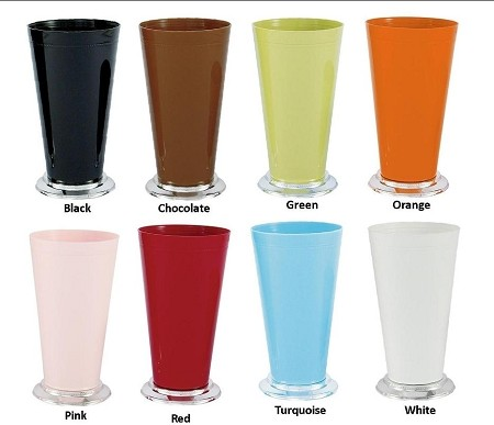VO-930 - Large Plastic Mint Julep Cup (8 Colors) - carton of 12