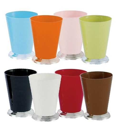VO-920 - Small Plastic Mint Julep Cup (8 Colors) - carton of 36
