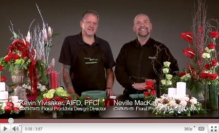 VIDEO - Holiday Floral Trends - Scroll down for VIDEO