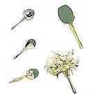 ELEGANT® Metallic Gold Bouquet Holders - available in 3 varieties with Maxlife - SO-0791-5-P (Scroll down for VIDEO)