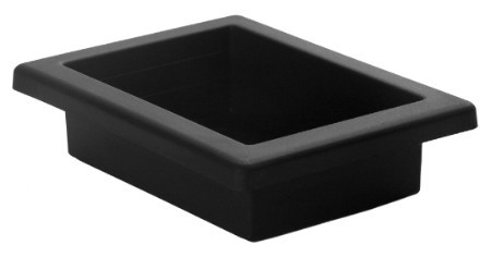 3807-02 - OASIS® Everyday Dish Black - carton of 36