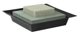 OASIS® Square Floral Foam Riser (shown w/ ESSENTIALS® Large Square Design Bowl) - by the piece - NOW with Maxlife