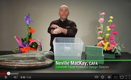 VIDEO - Floral Foam Soaking How-To - Scroll down for VIDEO