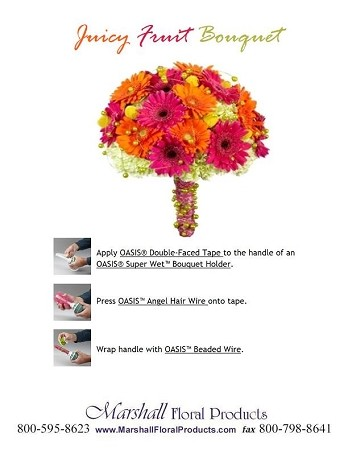 Juicy Fruit Bouquet - Scroll down for PDF Guide