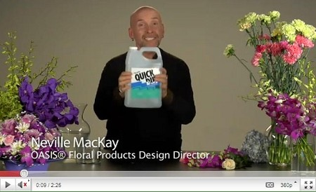 VIDEO - Keep Flowers Fresh with Quick Dip - Scroll down for VIDEO