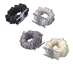 0778 - LOMEY® Ruffled Wristlet Black - carton of 144