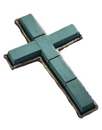 "SO-1839-P - OASIS® Mache 36"" Cross - by the piece - NOW with Maxlife"