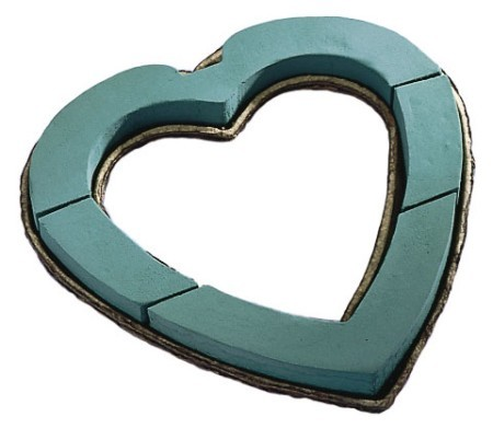 "SO-1825-P - OASIS® Mache 18"" Open Heart - by the piece - NOW with Maxlife"