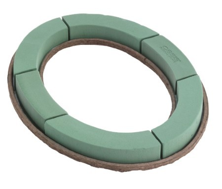 "SO-1850-P - OASIS® Mache 21"" Oval - by the piece - NOW with Maxlife"