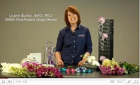 VIDEO - Make perfect circles with OASIS Aluminum Wire - Scroll down for VIDEO