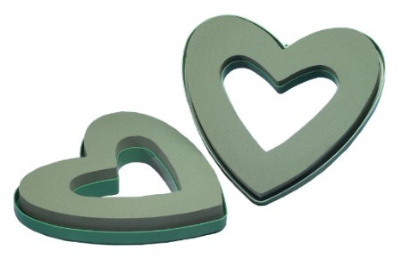 "SO-3095-P - 9"" OASIS® Open Mini Heart - by the piece - NOW with Maxlife"