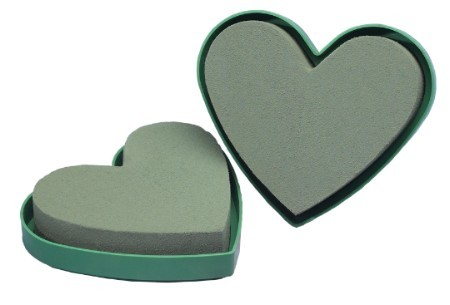 "3094 - 5"" OASIS® Solid Mini Heart - carton of 12 - NOW with Maxlife"