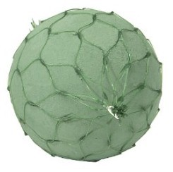 "8"" OASIS® Netted Floral Foam Sphere - carton of 9 - 7708N"