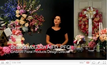 VIDEO - Pastel Wedding Flowers for 2010 - Scroll down for VIDEO