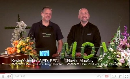 VIDEO - Personalizing Sympathy Floral Designs - Scroll down for VIDEO