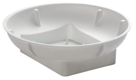 3801-01 - OASIS® Single Bowl White - carton of 48