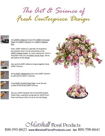 The Art & Science of Fresh Centerpiece Design - Scroll down for PDF Guide